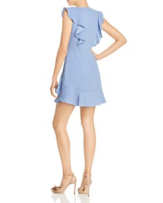 BCBGMAXAZRIA - Ruffled Crepe Dress
