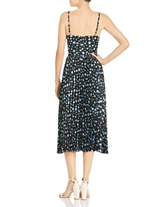Betsey Johnson - Pleated Floral Print Dress