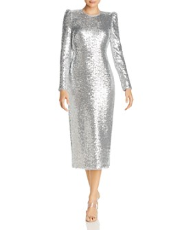 Rachel Zoe - Susan Sequin Open-Back Dress - 100% Exclusive