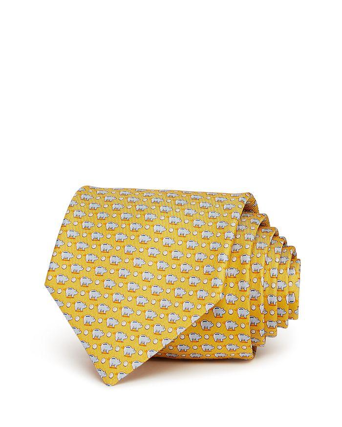 Salvatore Ferragamo - Piggy Banks Silk Classic Tie