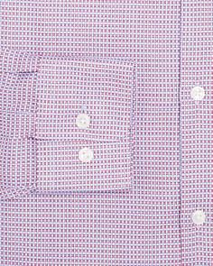 BOSS - Textured Regular Fit Dress Shirt