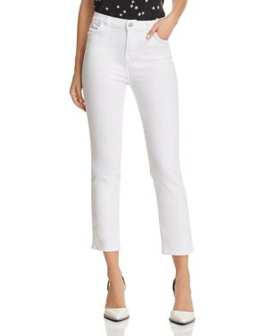 J Brand Ruby Crop Stovepipe Jeans in Luna