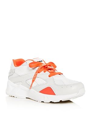 REEBOK | Reebok x Gigi Hadid Aztrek Low-Top Sneakers | Goxip