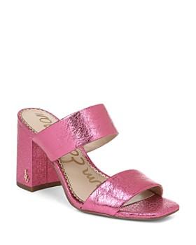 e5225efcb8cf Sam Edelman - Women s Delaney Block Heel Sandals ...