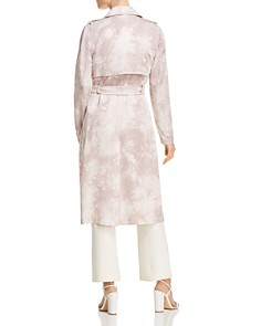 Badgley Mischka - Tie-Dye Trench Coat