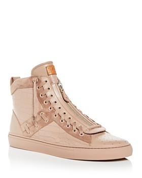 Bally - Men's Hekem Leather High-Top Sneakers