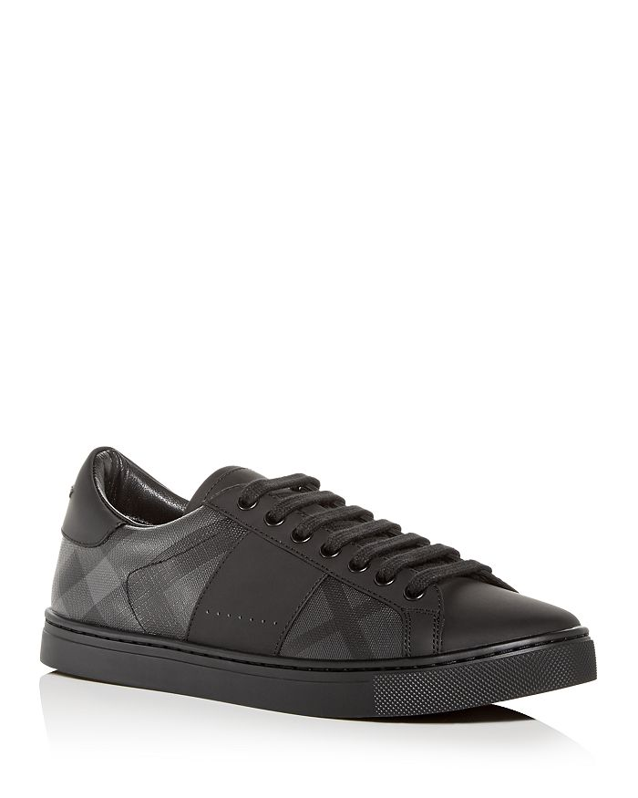Burberry - Men's Ritson Leather Low-Top Sneakers