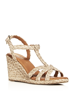Women's Madina T-Strap Wedge Sandals