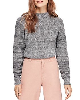 Free People - Too Good Mock-Neck Sweater