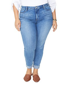 NYDJ Plus - Ami Ankle Skinny Jeans in Dreamstate
