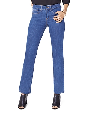 Nydj Marilyn Straight Jeans in Batik Blue
