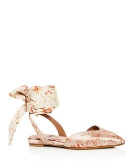 Tabitha Simmons - Women's Vera Pointed-Toe Flats