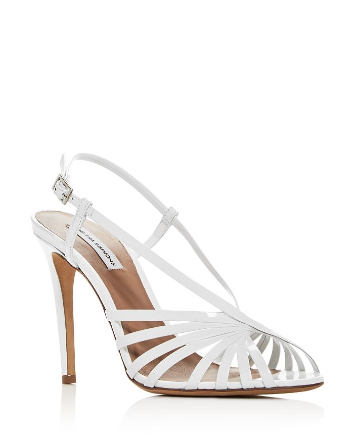 Tabitha Simmons - Women's Jazz Strappy Slingback High-Heel Sandals