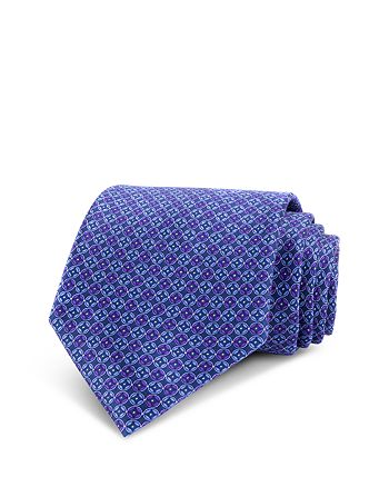 The Men's Store at Bloomingdale's - Geo-Link Silk Classic Tie - 100% Exclusive