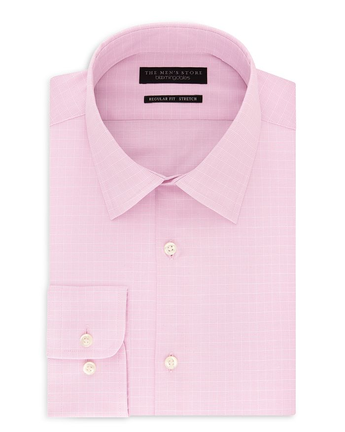 The Men's Store at Bloomingdale's - Parquet Regular Fit Dress Shirt - 100% Exclusive