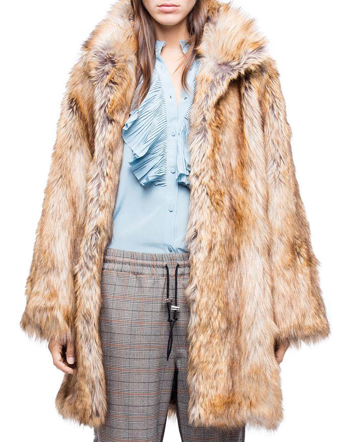 Zadig & Voltaire - Fury Faux-Fur Coat