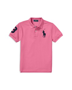 Ralph Lauren - Boys' Cotton Mesh Polo Shirt - Little Kid