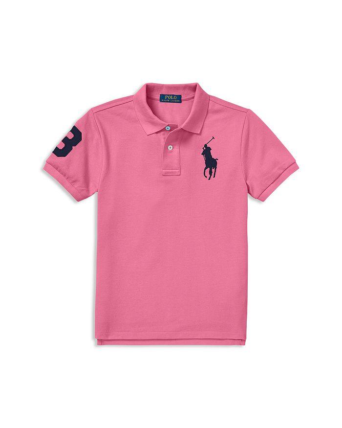 22384fe2 Ralph Lauren Boys' Cotton Mesh Polo Shirt - Little Kid | Bloomingdale's
