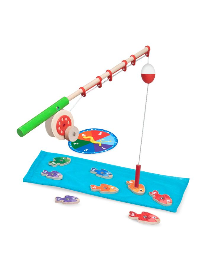 Melissa & Doug Catch & Count Fishing Game - Ages 3+   | Bloomingdale's