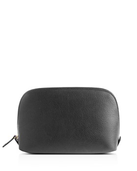 ROYCE New York - Pebbled Leather Cosmetics Case