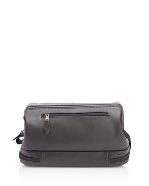 Royce New York Leather Shaving Toiletry Travel Bag