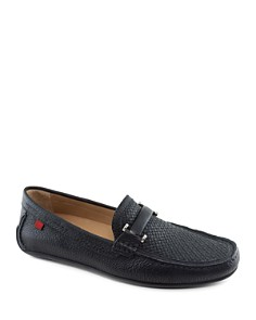 Marc Joseph - Bryant Park Woven Leather Loafers