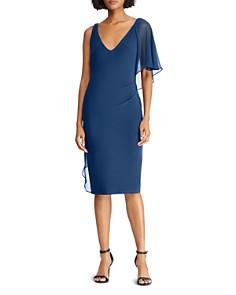 Ralph Lauren - Asymmetric Overlay Dress