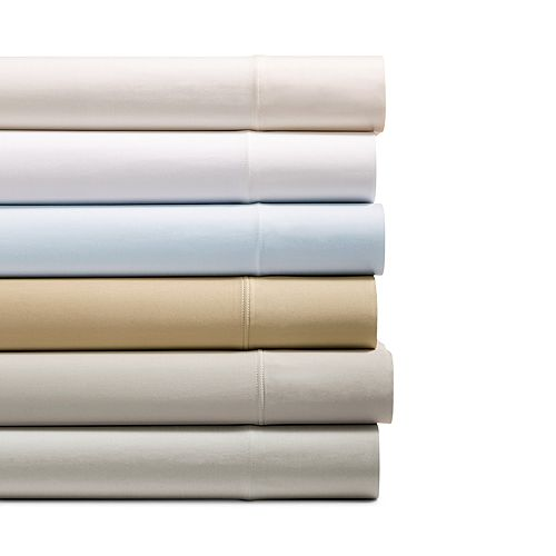 Hudson Park Collection - 825TC Flat Sheet, Queen - 100% Exclusive