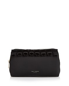 Ted Baker - Ruffled Cosmetic Bag