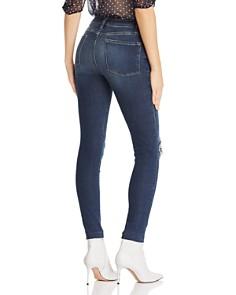 FRAME - Le Skinny De Jeanne Raw-Edge Jeans in Jolie