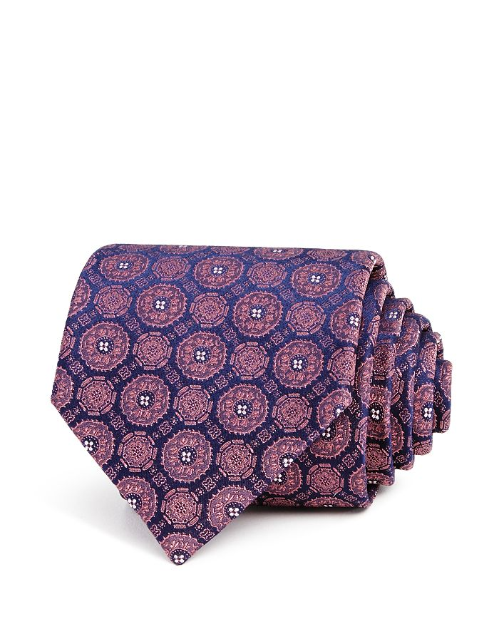 The Men's Store at Bloomingdale's - Medallions Silk Classic Tie - 100% Exclusive