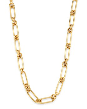 "Bloomingdale's - 14K Yellow Gold Chain Link Collar Necklace, 18"" - 100% Exclusive"