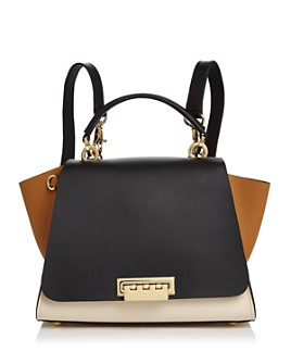 ZAC Zac Posen - Eartha Iconic Color Block Convertible Leather Backpack