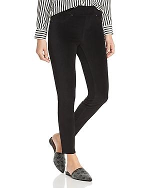 Jag Jeans MARLA VELVET LEGGING JEANS IN BLACK