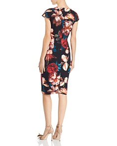 Black Halo - Greyson Floral Dress