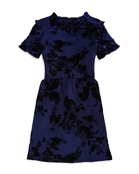 AQUA - Girls' Ruffled Floral Dress, Big Kid - 100% Exclusive