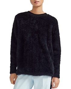 Maje - Mouthi Faux-Fur Sweater