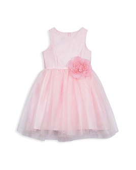 Pippa & Julie - Girls' Ballerina Dress with Rosette - Big Kid