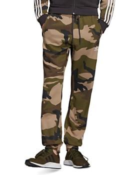 adidas Originals - Camouflage-Print Fleece Sweatpants
