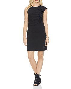 VINCE CAMUTO - Ruffle Detail Dress