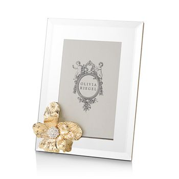 "Olivia Riegel - Gold Botanica 4"" x 6"" Frame"