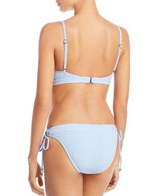 Lucky Brand Womens Triangle Hipster Bikini Swimsuit Top