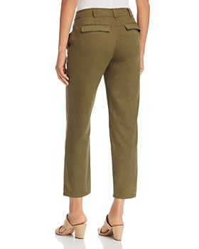 Eileen Fisher Petites - Organic Cotton Ankle Pants