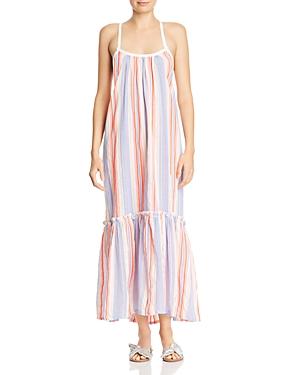 Lemlem Fiesta Striped Maxi Dress