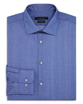 John Varvatos Star USA - Gradient Solid Dobby Regular Fit Dress Shirt