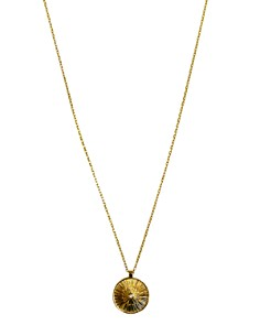 """Jules Smith - Sol Coin Pendant Necklace, 20"""""""