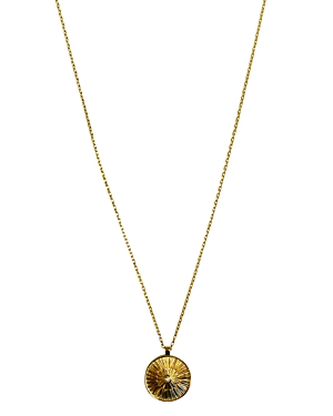 Jules Smith Sol Coin Pendant Necklace, 20