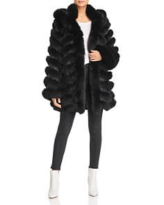 Maximilian Furs - Reversible Fox Fur Coat - 100% Exclusive