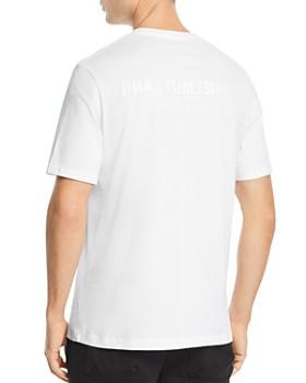 Helmut Lang - Short-Sleeve Color-Block Logo Graphic Tee