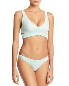 PilyQ - Azura Crisscross Bikini Top & Bikini Bottom
